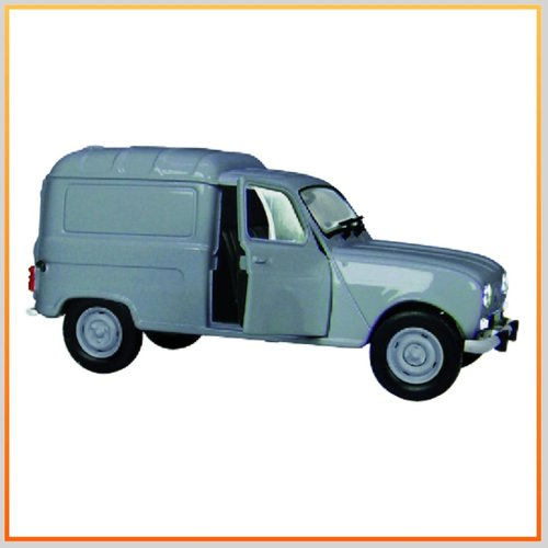 Universal Hobbies RENAULT 4 F4  Fourgonnette Light grey 1/32