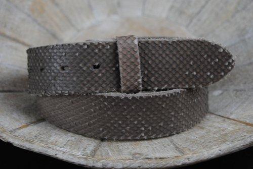 "UmjuBELT Gürtel ""Vintage Croco-Wild grey"""